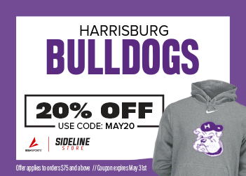 20% Off in Bulldogs Sideline Store
